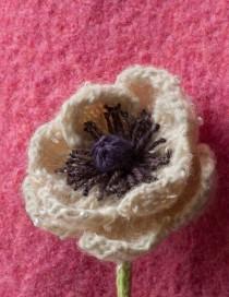 French Anemone Flower Pattern