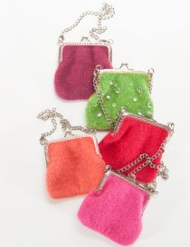 Coins Only: Raspberry, Lime, Antique Rose, Fuchsia, and Hot Pink