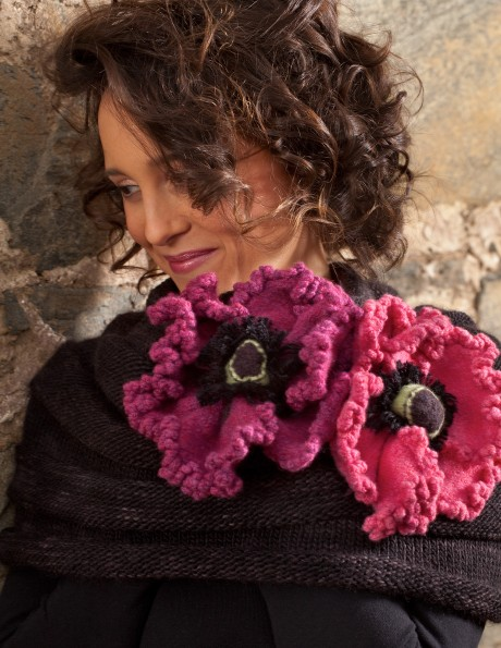 Escher's Poppy Cowl