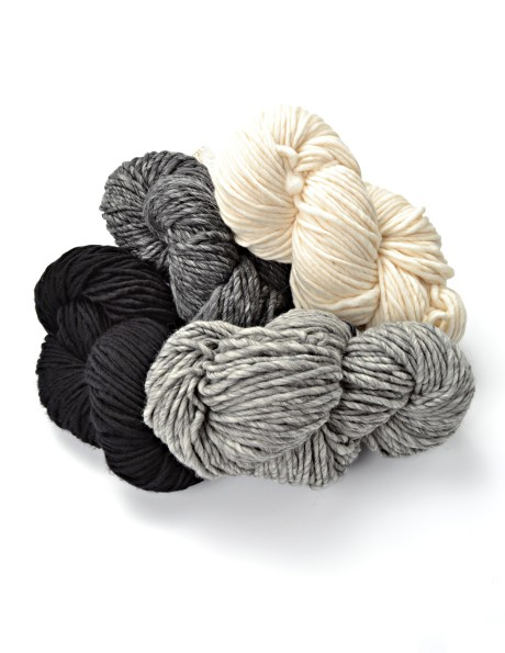 Luxurious bulky yarn in select colors