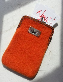 Where's My Card case in orange.
