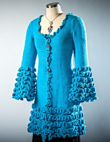 Flamenco Ella in misty blue